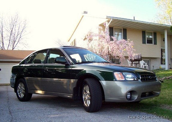 2004 Subaru Outback Sedan Specifications Pictures Prices
