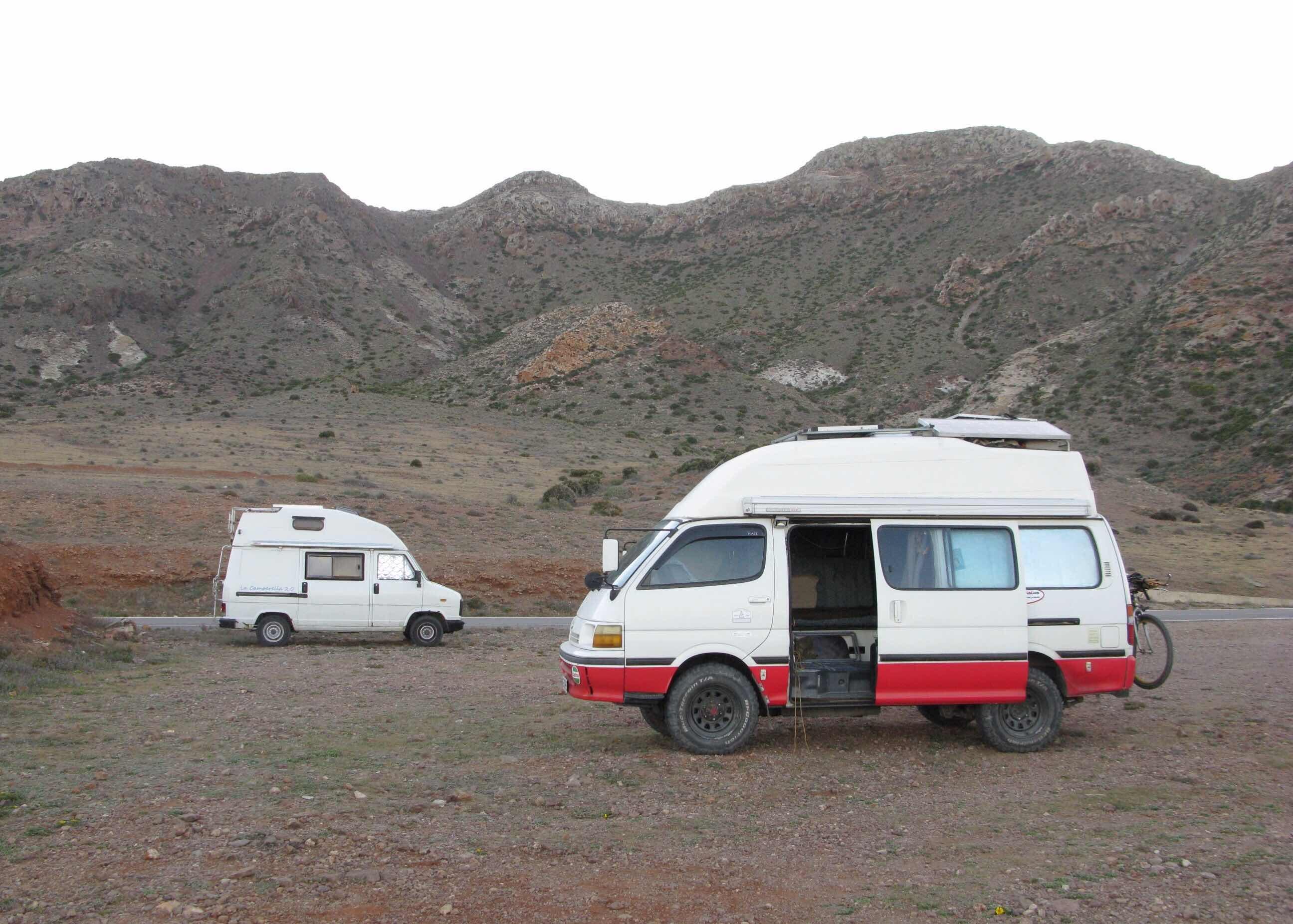 499f4b581a Hiace Hobo - Living in a Toyota Camper Van  Cabo de Gata