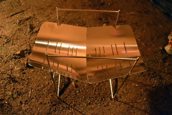 何がなんでもキャンプだし ピコグリル 396 チャイナ レプリカ オークション 焚火台 TIG溶接 ステン ファイアグリル スピット