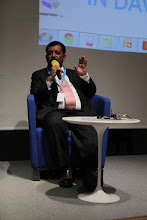 """Photo: Yogesh Joshi - final panel discussion - """"Comms Associations' Mission Today""""- 2012"""