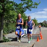 2012 07 01 Triathlon Noordwijkerhout 3 Lopen door Lex