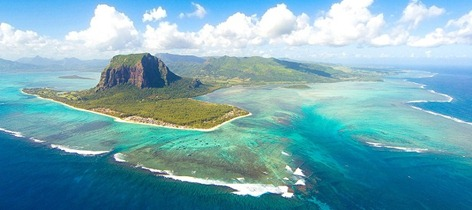 Aerial Mauritius