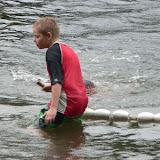 Swimmer Relay Handoff