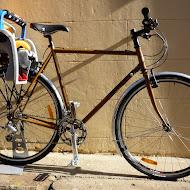 Strath's Flatbar Honjo'd Crosscheck Dad Bike