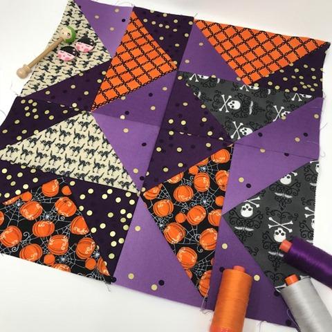 Peaches N Cream Quilt Blocks by Kim Lapacek
