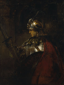REMBRANDT Harmenszoon van Rijn Man in Armor (Alexander the Great) 1655