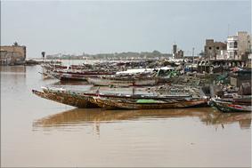 Guet Ndar - Barrio de los pescadores- Saint Louis