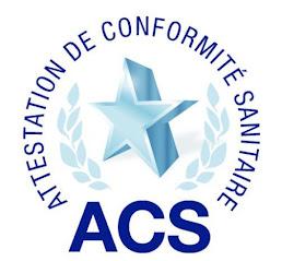 ACS attestation conformité sanitaire