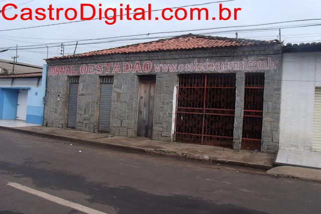 Prédio do Jornal O Estadão, do falecido jornalista Pedro Santos