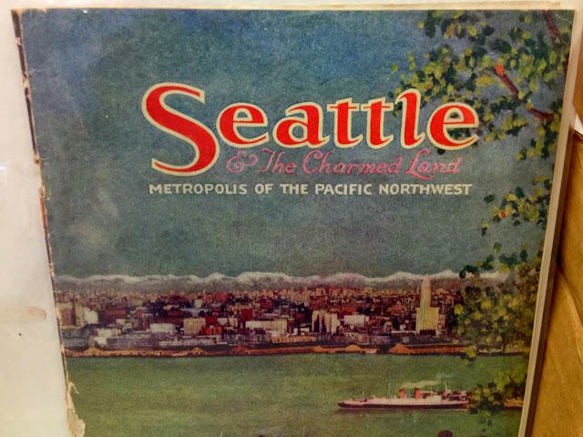 Seattle & The Charmed Land... A travel guide by Almira Bailey from 1920.