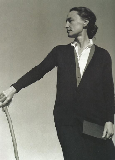 Georgia O'Keeffe photographed by Alfred Stieglitz in 1927