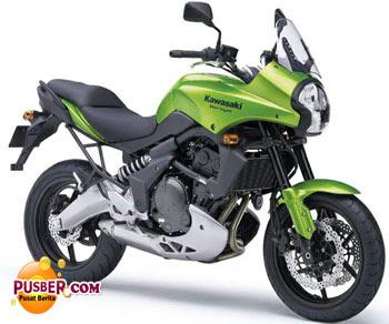 Kawasaki Versys Hijau