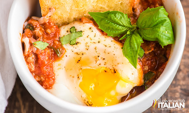 Baked Eggs in a Bowl