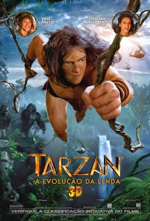 Filme Poster Tarzan – A Evolução da Lenda R5 XviD & RMVB Dublado