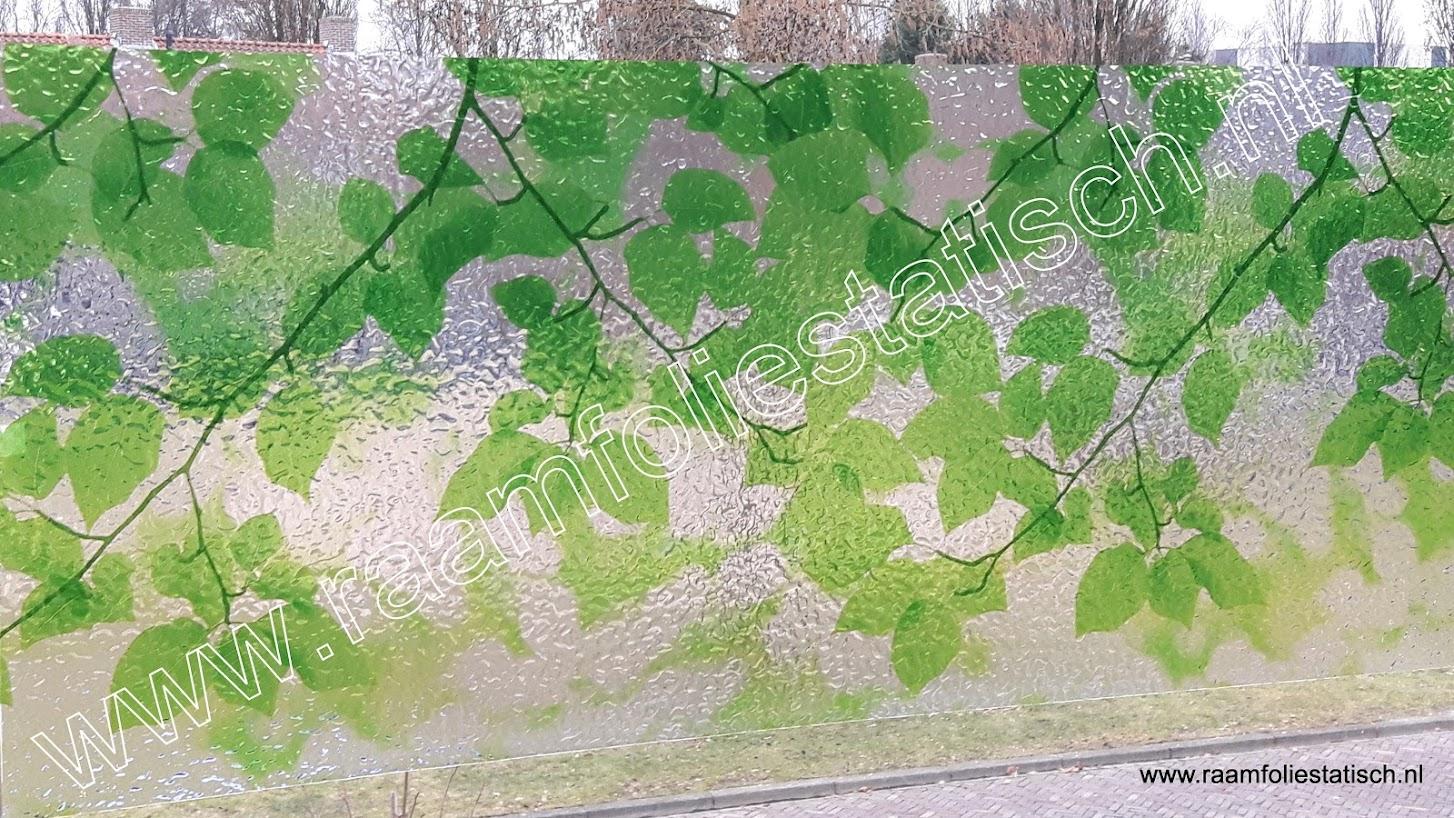Raamfolie statische groene bladeren kopen?