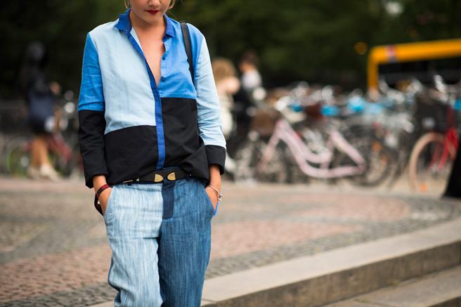 *秀場外的街拍:Copenhagen Fashion week 熱鬧登場! 11