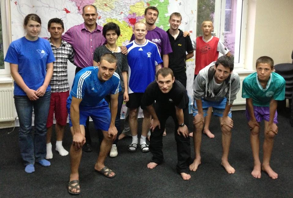 Echipa de studenți de la Operation Mobilization Moldova