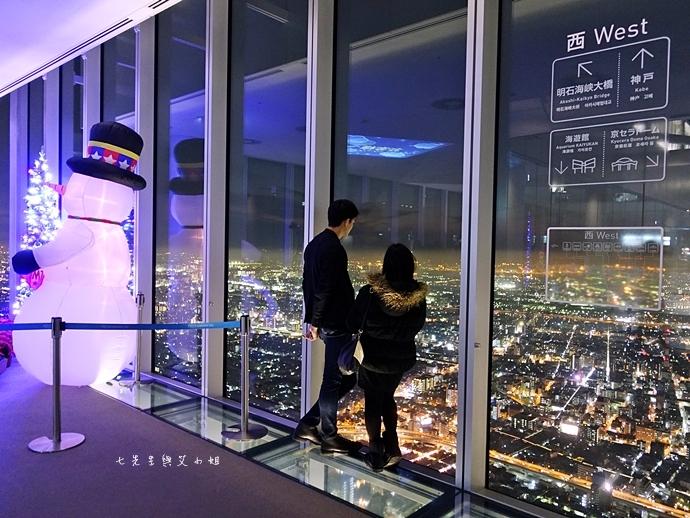 36 日本大阪 阿倍野展望台 HARUKAS 300 日本第一高摩天大樓 360度無死角視野 日夜皆美