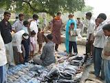 PVs visit Amarpurkashi market