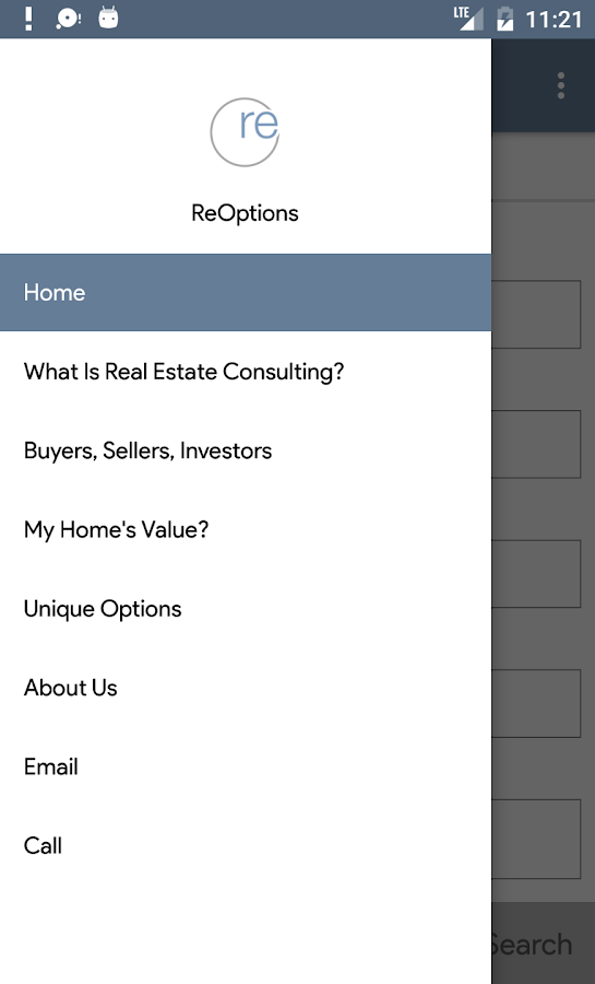 Reoptions Real Estate- screenshot