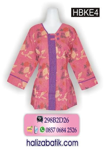 grosir pakaian wanita, baju batik modern, model baju batik masa kini