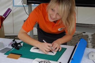 Photo: Karin Wojas - www.mymoons.de - Werbung, Folienbeschriftung, Wandgestaltung und vieles mehr.