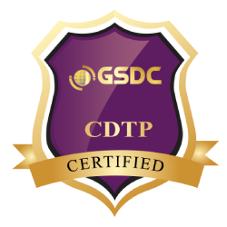 Certification Badge for Design Thinking Professional