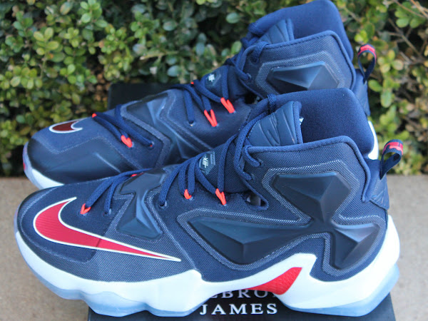 Closer Look at Nike LeBron XIII USA