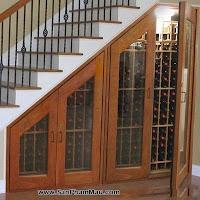 Tủ rượu âm tường - Điểm nhấn cho phòng khách hiện đại - Tủ âm tường