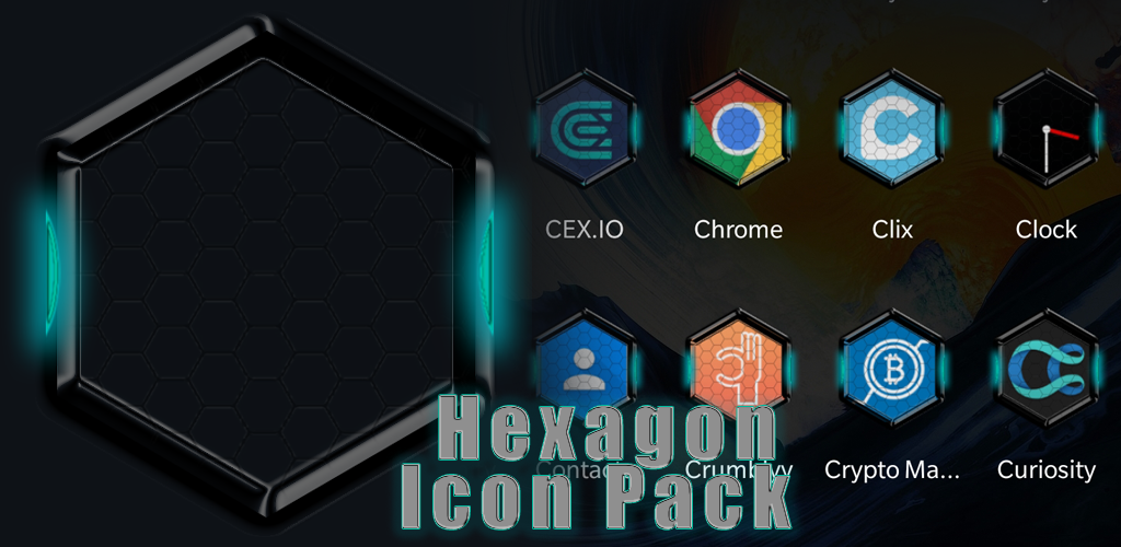 Hexagon Crysis Icon Pack 15 Apk Download Combitbleediconpack