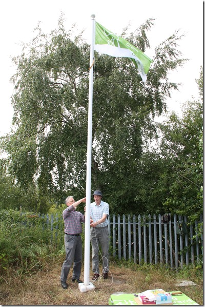Raising the Green Flag