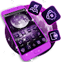 Purple Moon Sea Theme APK icon