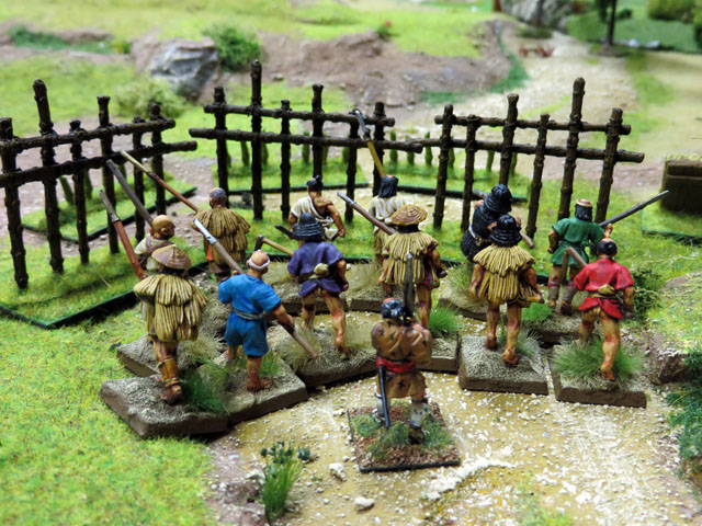 Les Sept Samourais ! *** MàJ : Epilogue *** - Page 2 12%252520Seven%252520Samurai%25252028mm%252520West%252520palissade%2525201