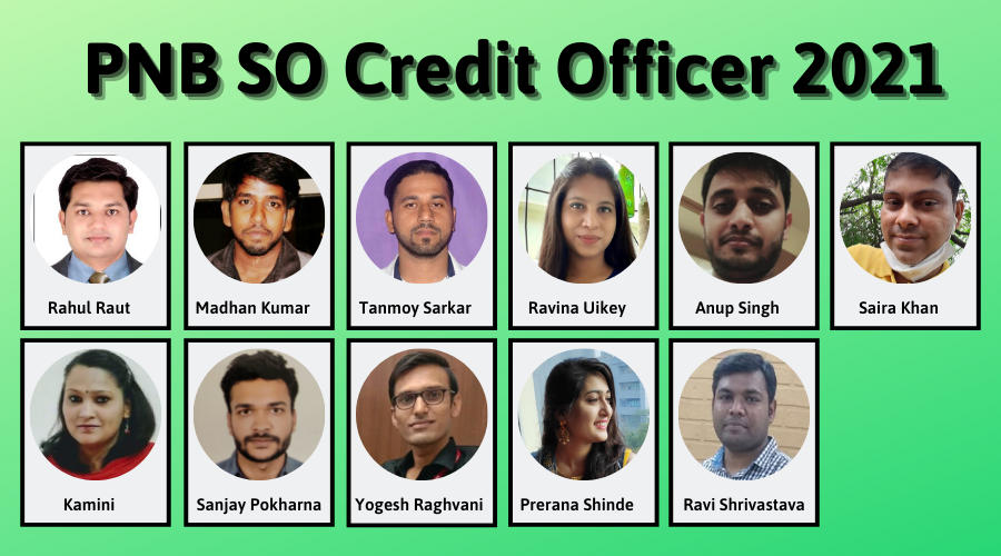PNB SO Credit Officer 2021