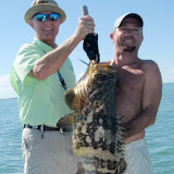 Golaith Grouper wrangling with Capt. Dave Perkins (3).jpg