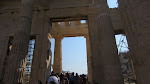 The view through the Propylaea as you enter the Acropolis