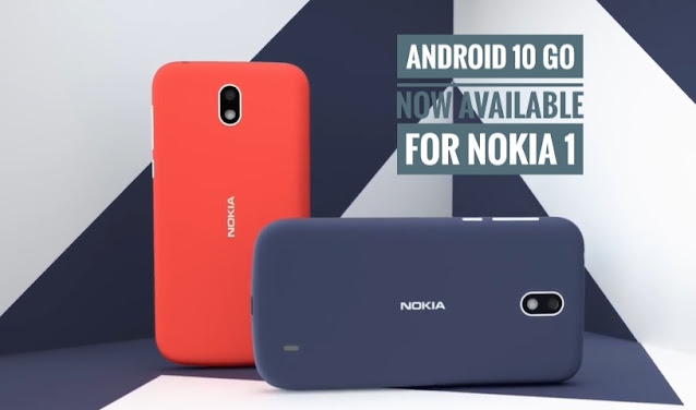 Android 10 Go update rolling out for Nokia 1
