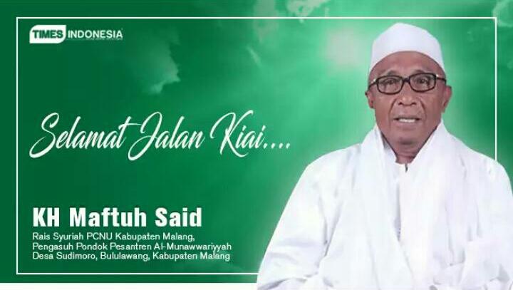 Prosesi Pemakaman Almarhum KH. Mahfud Said