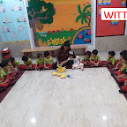 Fruit Salad Activity done by Nursery Section (2017-18) at Witty World,Bangur Nagar