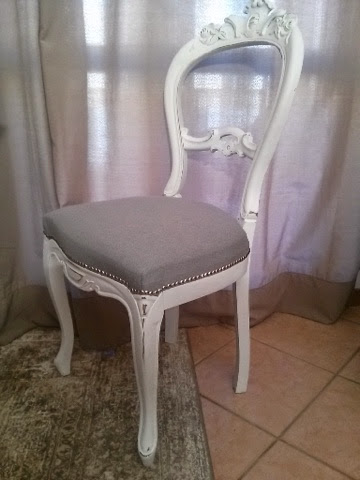 Pennellate artistiche sedie floreali shabby chic flower for Sedie shabby chic usate