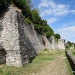 Ancien château : remparts sud