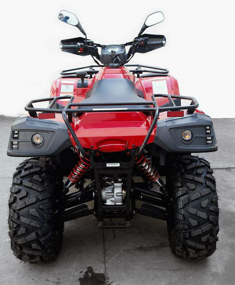 500 Linhai Yamaha ATV Farm 4x4 Quad Bike Rear