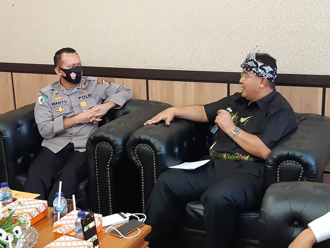 Ketua Pelaksana Satgas Saber Pungli Prov Jabar Koordinasi Dan Tatap Muka Dengan Walikota Tasikmalaya