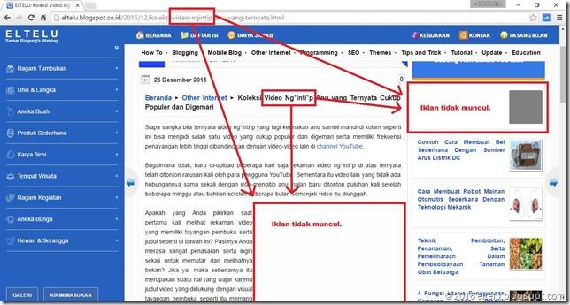 Penyebab Iklan AdSense tidak Mau Muncul dan Tampil di Blog