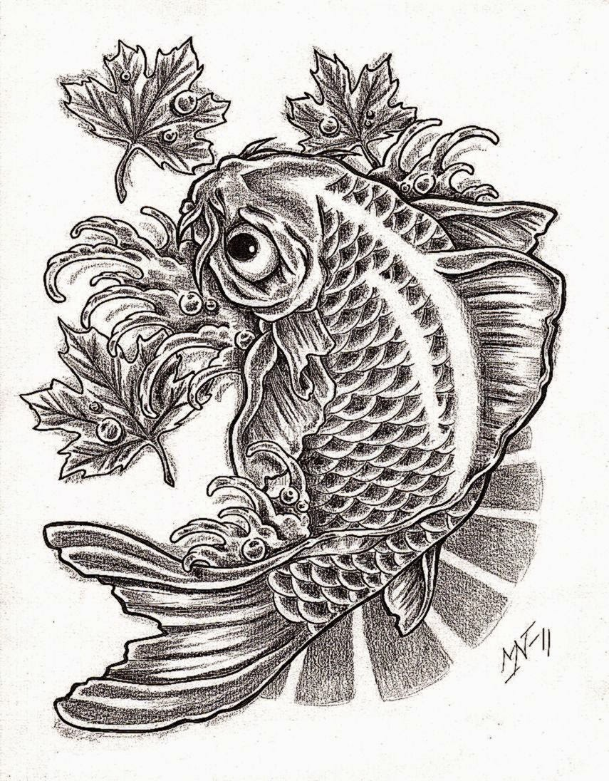 Koi fish tattoo free tattoo pictures for What does a koi fish represent