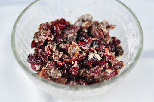 tossed dry fruits