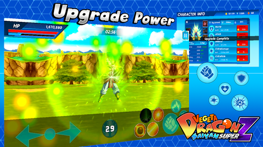 Vegeta Dragon Saiyan Super Z 1.1.0 screenshots 2