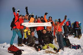 Sommet du Mt Blanc