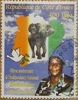 timbre Côte d'Ivoire 010