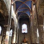 Eglise Saint-Martin de Chevreuse : choeur et crèche